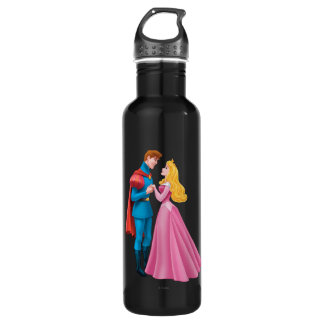 Aurora and Prince Phillip Holding Hands 710 Ml Water Bottle