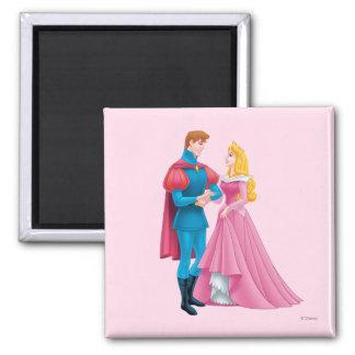 Aurora and Prince Phillip Magnet
