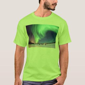 Aurora at Bear Lake. T-Shirt