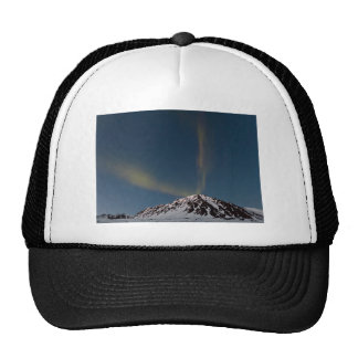 Aurora bands over Marmot Mt @ Hatcher Pass, Alaska Trucker Hat