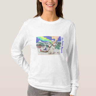 Aurora Bearialis Long Sleeve Holiday T-shirt