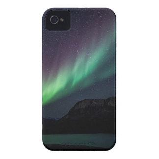 Aurora Borealis At Night iPhone 4 Case-Mate Case