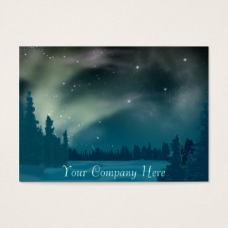 Aurora Borealis Business Card
