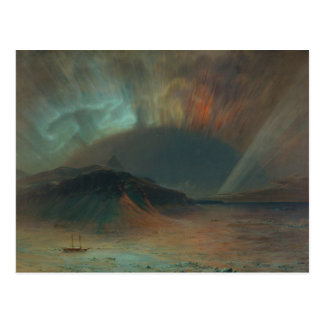 Aurora Borealis by Frederic Edwin Church 1865 Postcard