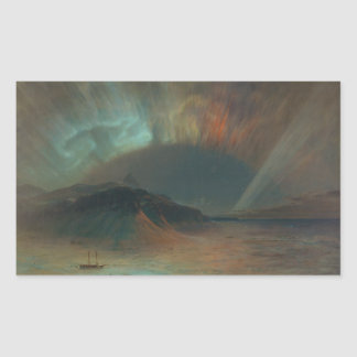 Aurora Borealis by Frederic Edwin Church 1865 Sticker