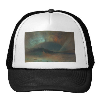 Aurora Borealis by Frederic Edwin Church 1865 Trucker Hat