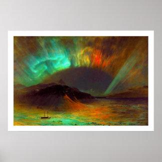 Aurora Borealis by Frederic Edwin Church Print