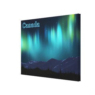 Aurora Borealis - Canada Canvas Print