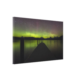 Aurora Borealis Canvas Art