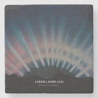 Aurora Borealis Coaster Stone Beverage Coaster