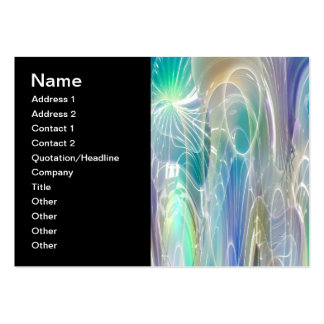Aurora Borealis Fantasy Abstract Art Business Card Templates
