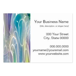 Aurora Borealis Fantasy Abstract Art Business Card Template