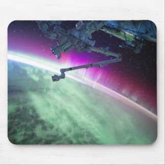 Aurora Borealis from space Mouse Pad