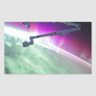 Aurora Borealis from space Sticker