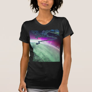 Aurora Borealis from space T-Shirt