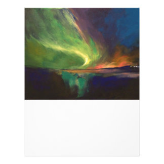 Aurora Borealis Letterhead