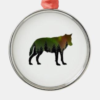 Aurora Borealis Metal Ornament