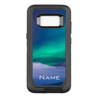 Aurora Borealis Name OtterBox Defender Samsung Galaxy S8 Case