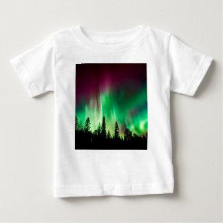 Aurora borealis northern lights baby T-Shirt