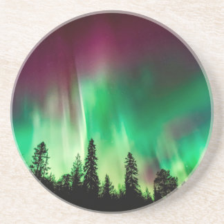 Aurora borealis northern lights coaster