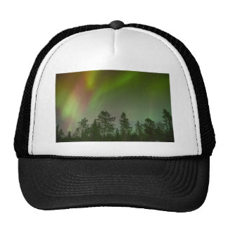 Aurora Borealis Northern Lights Skies Glow Sparkle Trucker Hat