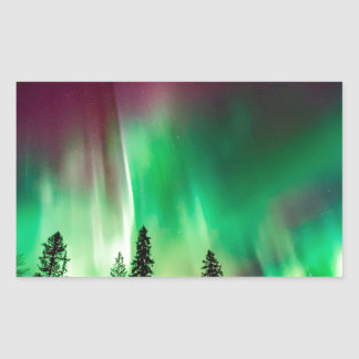 Aurora borealis northern lights sticker
