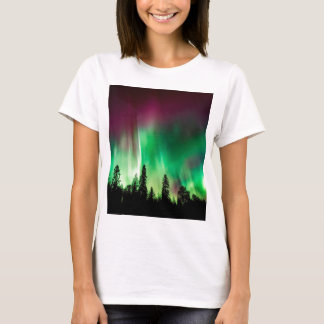 Aurora borealis northern lights T-Shirt