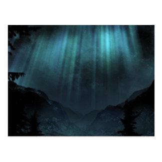 Aurora Borealis Postcard