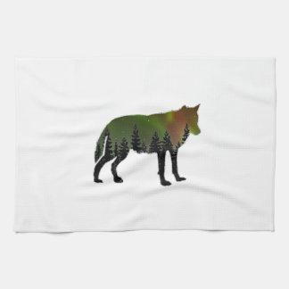 Aurora Borealis Towel