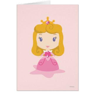 Aurora Cartoon Card