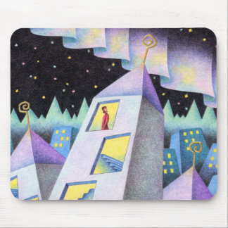 Aurora city mouse pad
