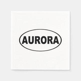 Aurora Colorado Disposable Napkin