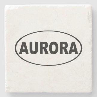 Aurora Colorado Stone Beverage Coaster