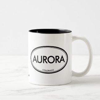 Aurora, Colorado Two-Tone Coffee Mug