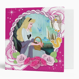 Aurora - Gentle and Graceful 3 Ring Binder