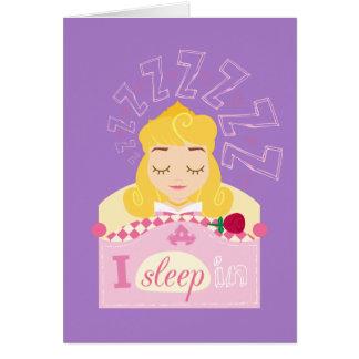 Aurora |  I Sleep In Card