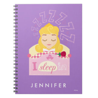 Aurora |  I Sleep In Spiral Note Book