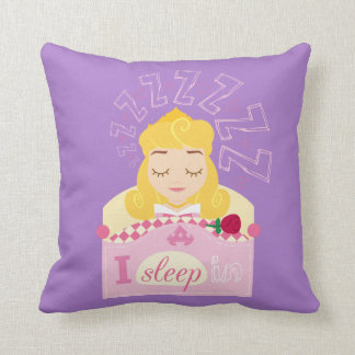 Aurora |  I Sleep In Throw Pillow