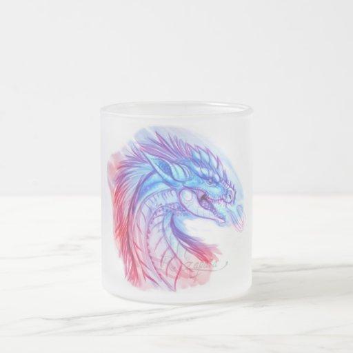 Aurora Ice dragon Coffee Mug