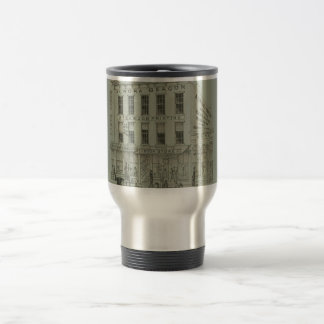 Aurora Illinois Aurora Beacon News 1871 Stone Lith Travel Mug