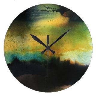 Aurora Large Clock