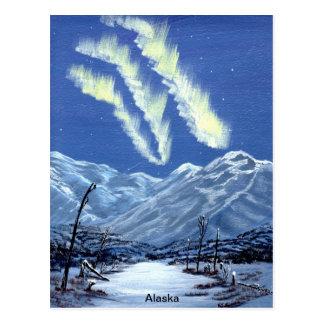 Aurora Lights Postcard