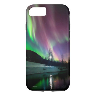 Aurora Night in Alaska-iPhone / iPad case