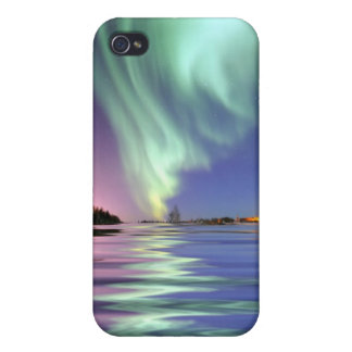 Aurora Over Alaska iPhone 4 Covers