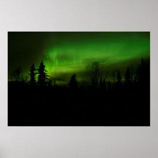 Aurora over Denali print