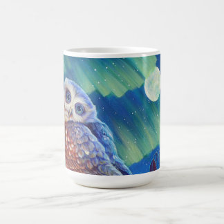 Aurora Owl Coffee Mug