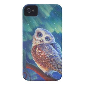 Aurora Owl iPhone 4 Cases