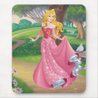Aurora | Pink Gown Mouse Pad