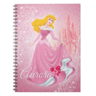 Aurora Princess Spiral Notebook