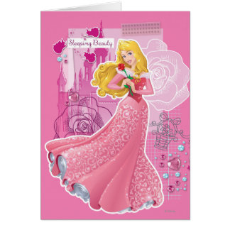 Aurora - Sleeping Beauty Greeting Card